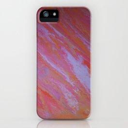 pink skies marble iPhone Case