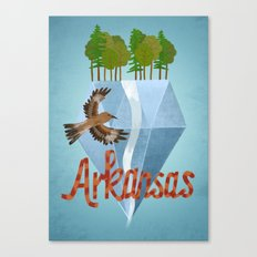 Arkansas Canvas Print