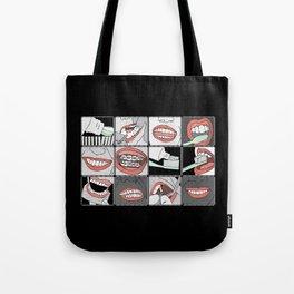 Dentistry vertical Tote Bag