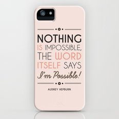 I'm Possible! Slim Case iPhone (5, 5s)