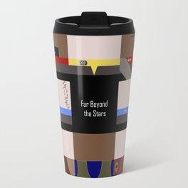 DS9 - Far Beyond the Stars - square - Minimalist Star Trek DS9 Deep Space Nine - Crew Travel Mug