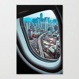Touchdown Taipei Canvas Print