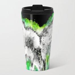 splatter Metal Travel Mug
