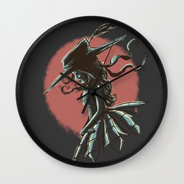 crinoline  Wall Clock