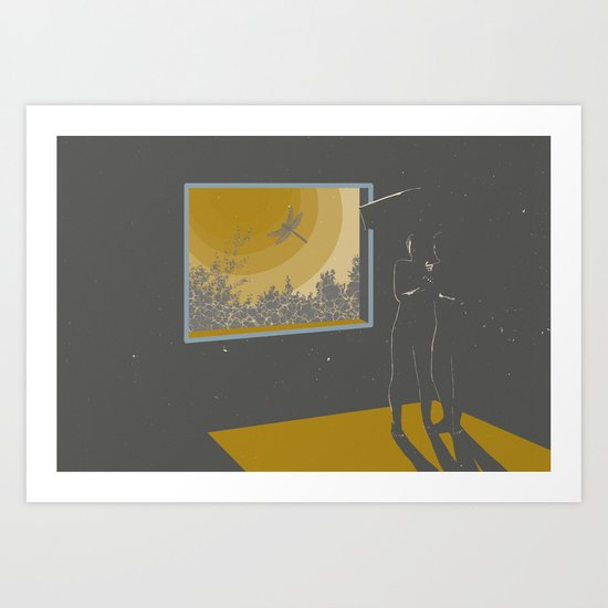 Morning halucination Art Print