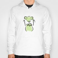 kermit Hoodies featuring Kermit The Mantis by Matt of Sydney