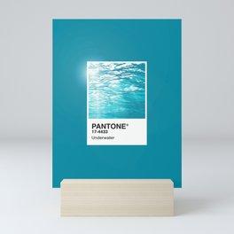 Pantone Series – Underwater Mini Art Print