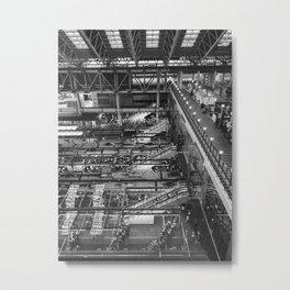 City Life in Umeda Metal Print