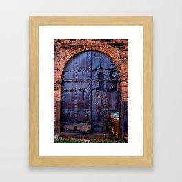 Rusted Doorway Framed Art Print