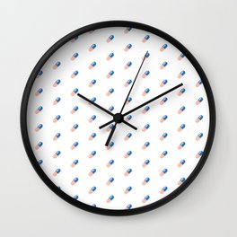 Good for Health, Bad for Education Wall Clock