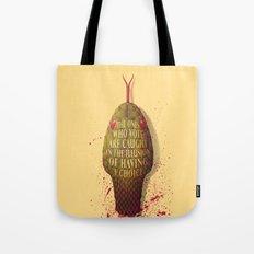 viperish tongues Tote Bag