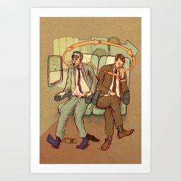 A Long Flight Art Print