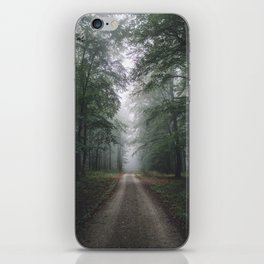 Autumn Forest Walk iPhone Skin