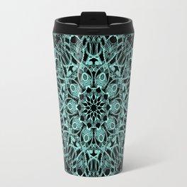 Mandala Project 235 | Seafoam Green Travel Mug