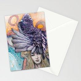 Sunset Gala Stationery Cards