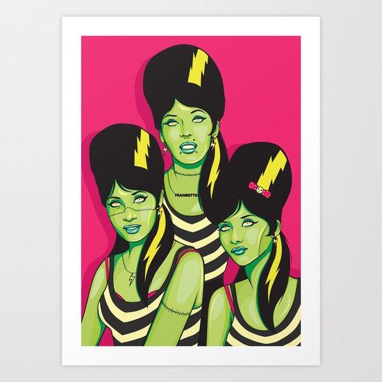 Frankettes Art Print