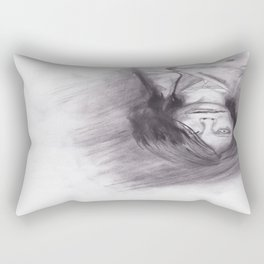 口裂け pls Rectangular Pillow