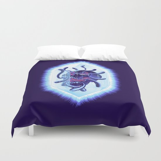 Curse Of The Crystalline Soul Duvet Cover