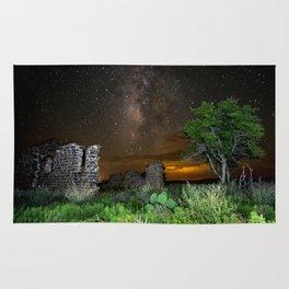 Milky Way over Texas Rug