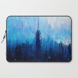 Empire State Building - New York City - Cityscape Wall Art, Poster, Impressionism Paintings, Prints Laptop Sleeve