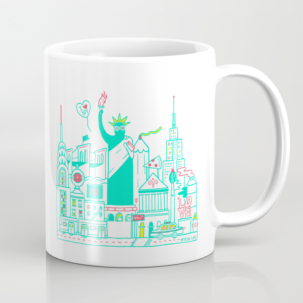 New York, New York Mug by Heyheysu MUG2337320