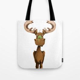Moose Named Moe Tote Bag