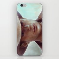 dean winchester iPhone & iPod Skins featuring Dean Winchester from Supernatural by Annike