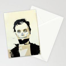 Abraham Lincoln (skull) Stationery Cards