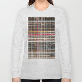 structure with red lines Long Sleeve T-shirt