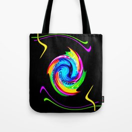 Abstract perfection -100 Tote Bag