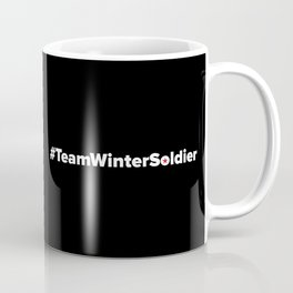 #TeamWinterSoldier Hashtag Team Winter Soldier Coffee Mug