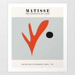 Matisse Cutout Poster, Henri Matisse Print, Matisse Exhibition Poster, Matisse Leaf ,wall art decor Art Print