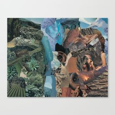 earth vibrations Canvas Print