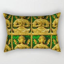 praying budda Rectangular Pillow