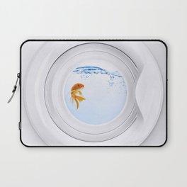 (Very) Clean Goldfish Laptop Sleeve