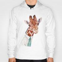 toddler Hoodies featuring Mr Giraffe by Animal Crew