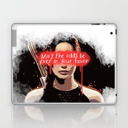 maybe the odds be ever in your favor Laptop & iPad Skin