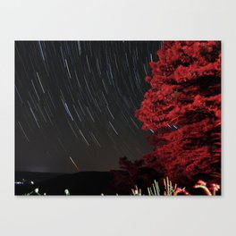 Stop Lights and Stars Canvas Print