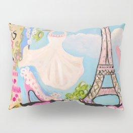 Paris Eiffel Tower Pillow Sham