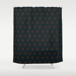 Ethiopian Coffee Bean Shower Curtain