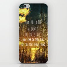 May You Stay Forever Young iPhone & iPod Skin