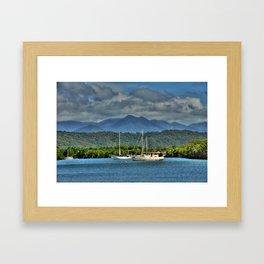 Port Douglas Framed Art Print