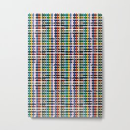 Colorful Geometric Metal Print