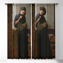 Longing (Saudade) by Almeida Junior Blackout Curtain