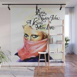 Olivia Newton-John - A Little More Love Wall Mural