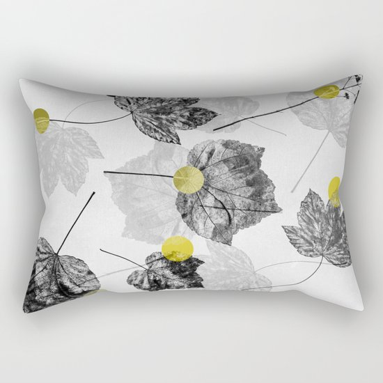 Leaves Abstract 1 Rectangular Pillow