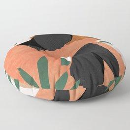 Tropical Girl 10 Floor Pillow