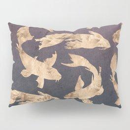 Gold Ocean Pillow Sham