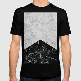 Concrete Arrow Black Granite #844 T-shirt