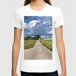 Summer Field Poetry T-shirt